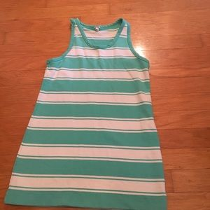 J Crew large women's racerback dress
